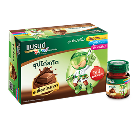 BRAND'S Junior alphaplus choccolava– 6s x 41ml