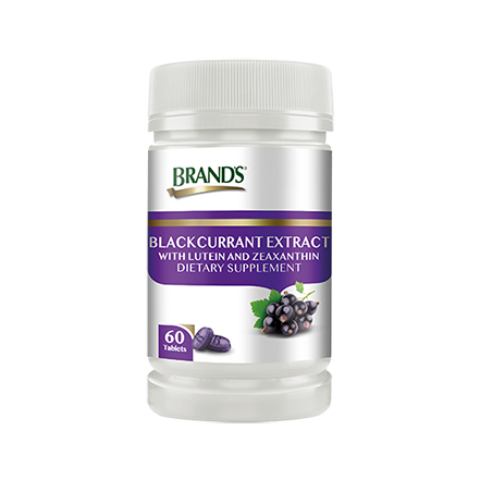 BRAND'S Blackcurrant Extract with Lutein and Zeaxanthin 6s x 68ml